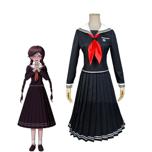 Anime Danganronpa 2: Trigger Happy Havoc Toko Fukawa JK Uniform Cosplay Costumes - Cosplay Clans