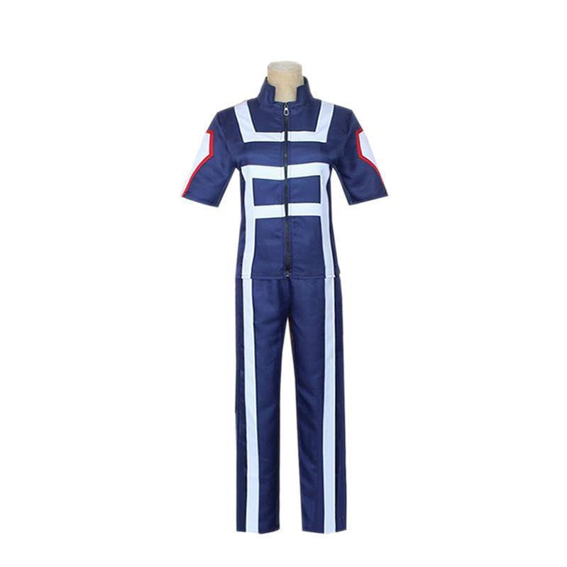 Anime My Hero Academia Short Sleeve Sports Uniform Cosplay Costume - Cosplay Clans