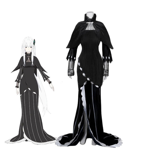 Anime Re: Zero Starting Life in Another World Echidna Witch of Greed Cosplay Costumes - Cosplay Clans