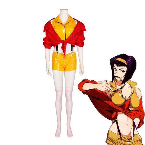 Anime Cowboy Bebop Faye Valentine Cosplay Costume - Cosplay Clans