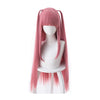 The Quintessential Quintuplets Nino Nakano Long Pink Cosplay Wigs