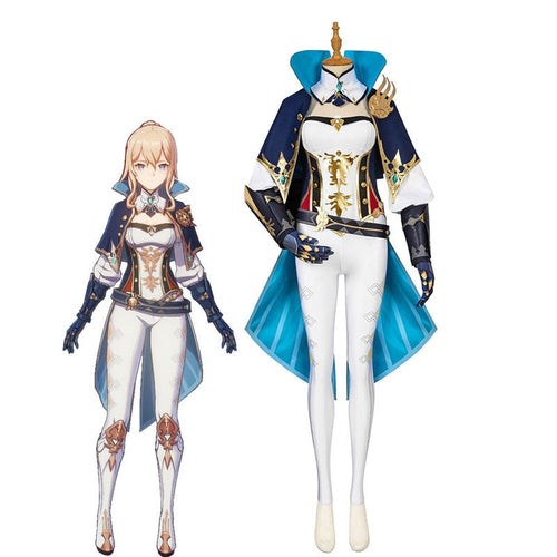 Game Genshin Impact Jean Fullset Cosplay Costumes - Cosplay Clans