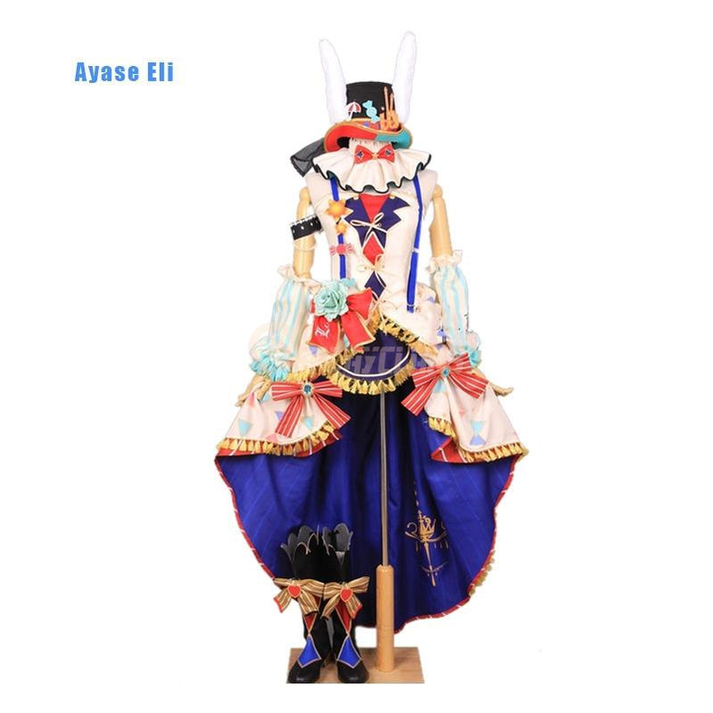 Anime LoveLive! Ayase Eli and μ's All Members Circus Uniform Cosplay Costume - Cosplay Clans
