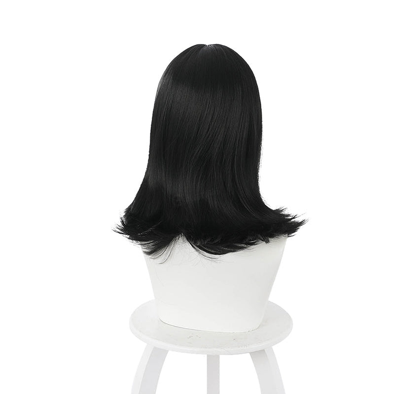 Anime Akudama Drive The Swindler Ordinary Person Long Black Cosplay Wigs - Cosplay Clans