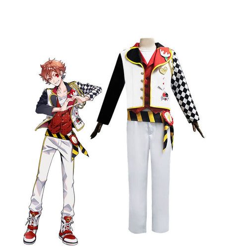 Game Twisted-Wonderland Ace Trappola Cosplay Costume - Cosplay Clans