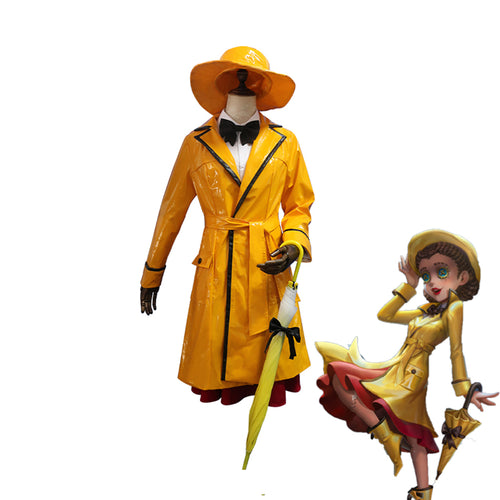 Game Identity V Doctor Rhythm of The Rain Emily Dyer Cosplay Costume - Cosplay Clans