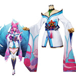 League of Legends Spirit Blossom Ahri Cosplay Costumes