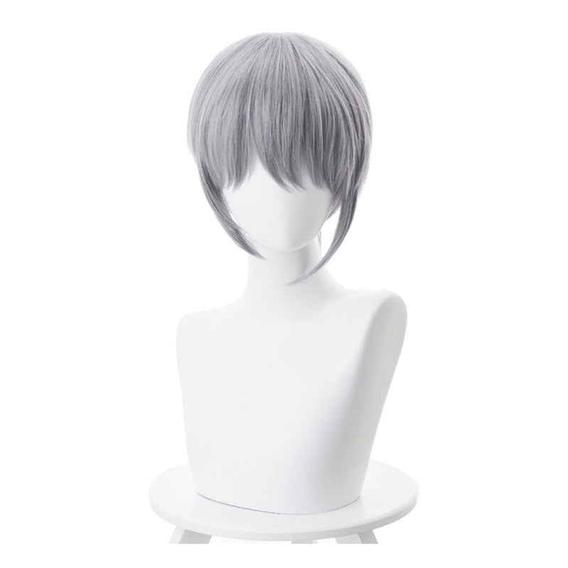 Anime Fruits Basket Soma Yuki 35cm Short Gray Cosplay Wigs - Cosplay Clans