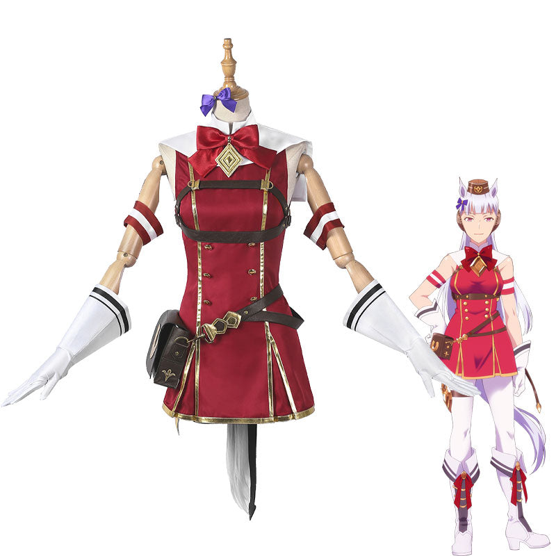 Uma Musume Pretty Derby Gold Ship Uniform Cosplay Costumes