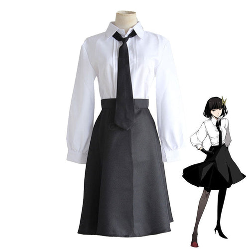 Anime Bungo Stray Dogs Yosano Akiko Cosplay Halloween Costume - Cosplay Clans