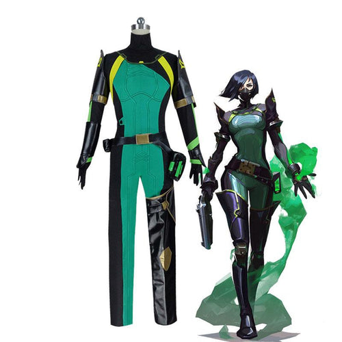 Game Valorant Viper Cosplay Costumes (Customized) - Cosplay Clans