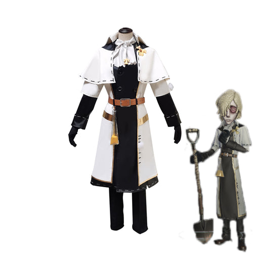Game Identity V Grave Keeper Choir Boy Andrew Kress Cosplay Costume - Cosplay Clans
