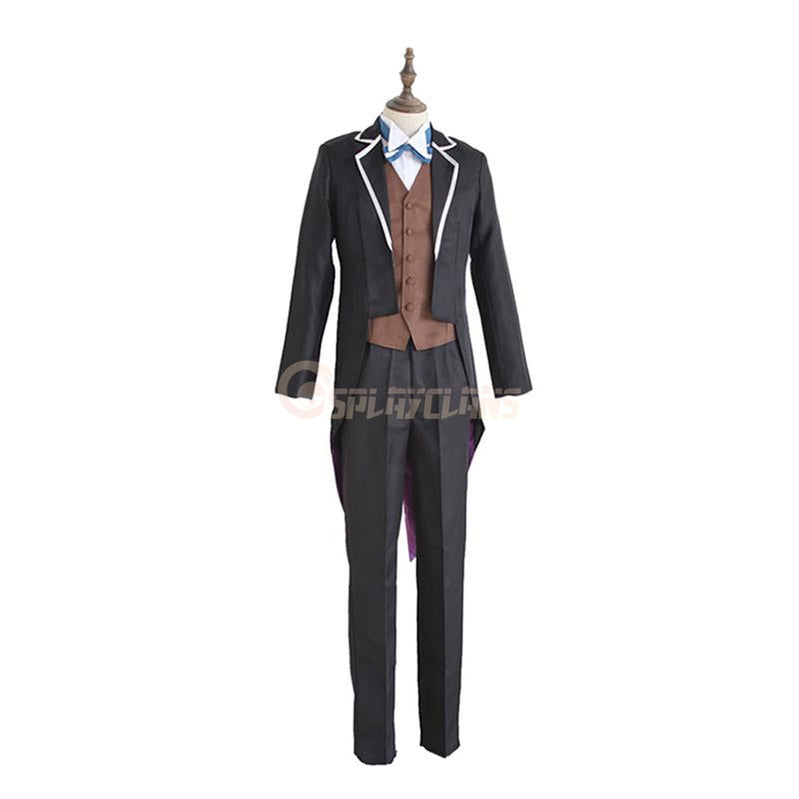 Anime Re:Zero Starting Life in Another World Subaru Natsuki Tuxedo Cosplay Costume - Cosplay Clans