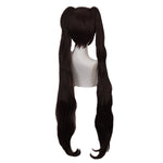 Game Nekopara Chocola Long Straight Brown Cosplay Wigs - Cosplay Clans