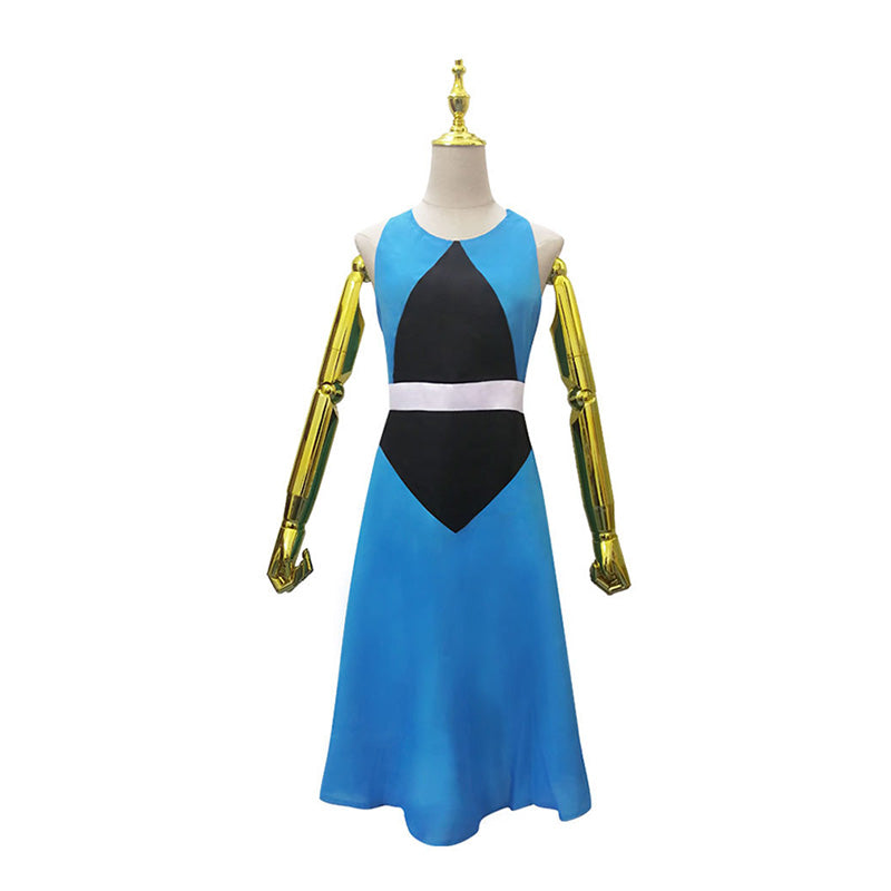 Anime Steven Universe Lapis Lazuli Dress Cosplay Costume - Cosplay Clans