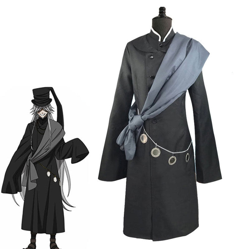 Anime Black Butler Undertaker Cosplay Costume - Cosplay Clans