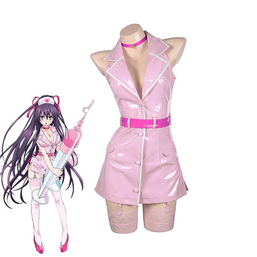 Anime Date A Live Tohka Yatogami Nurse Outfits Cosplay Costume - Cosplay Clans