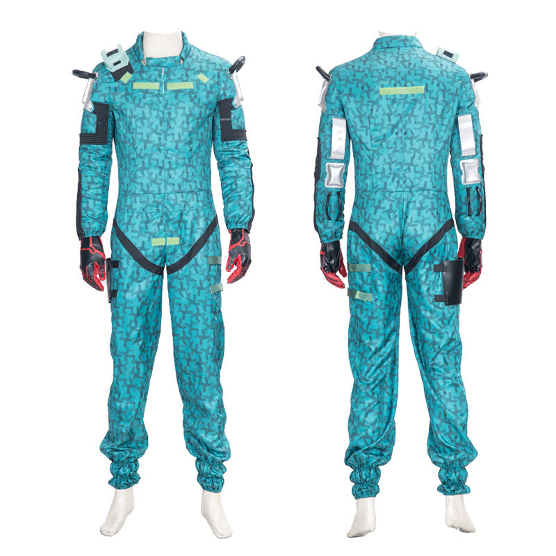 Game Cyberpunk 2077 Trauma Team Jumpsuit Cosplay Costumes - Cosplay Clans