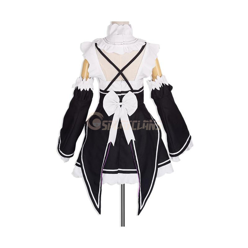Anime Re:Zero Starting Life in Another World Rem and Ram Maid Cosplay Costume - Cosplay Clans