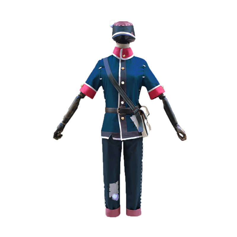 Game Identity V Postman Blue Victor Grantz Cosplay Costume - Cosplay Clans