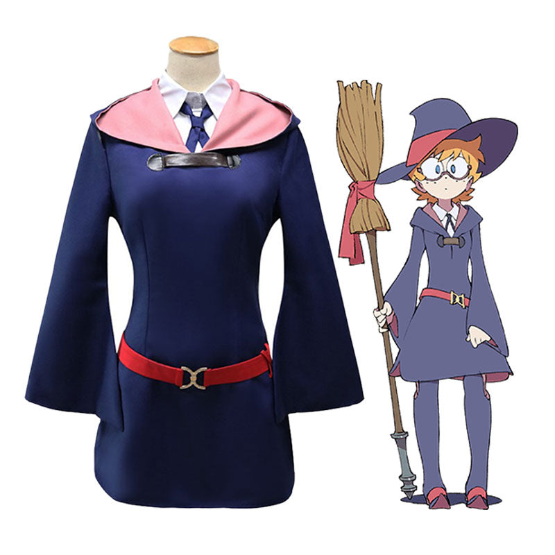 Anime Little Witch Academia Rotte Yanson and Diana Cavendish Outfits Cosplay Costume - Cosplay Clans