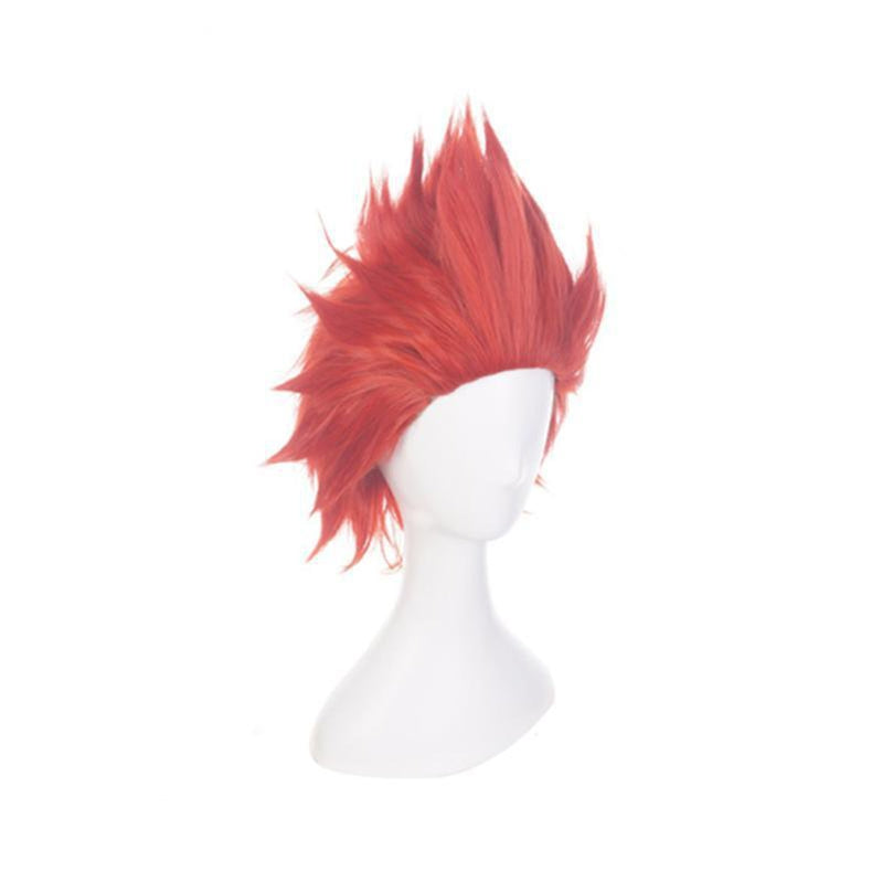 Anime My Hero Academia Eijiro Kirishima Short Red Cosplay Wigs - Cosplay Clans