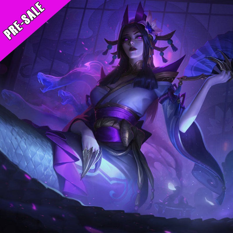 Game LOL Spirit Blossom Cassiopeia Cosplay Costume And Cosplay Wigs Pre-Sale - Cosplay Clans
