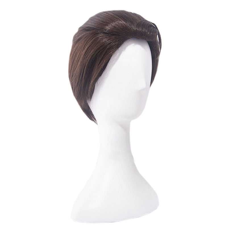 Game Detroit: Become Human Connor Short Brown Cosplay Wigs