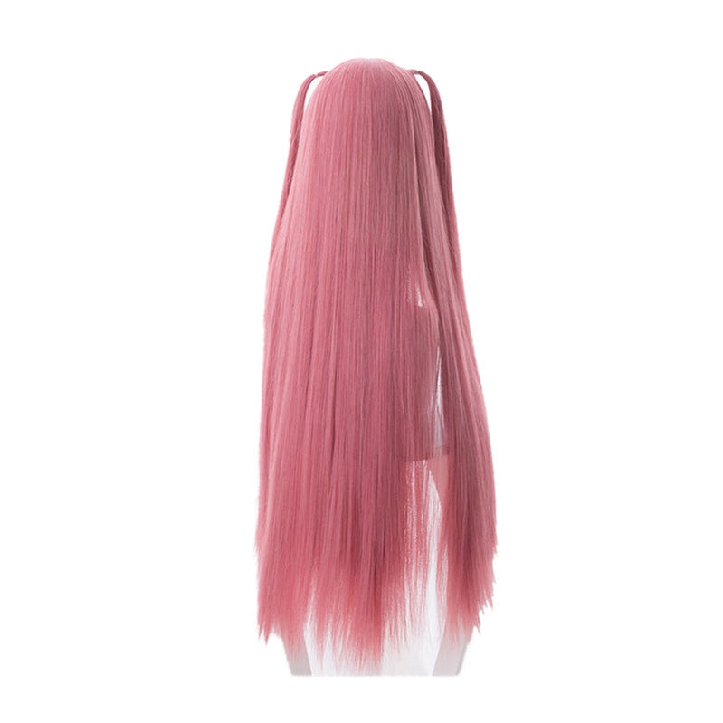 Anime The Quintessential Quintuplets Nino Nakano Long Pink Cosplay Wigs - Cosplay Clans