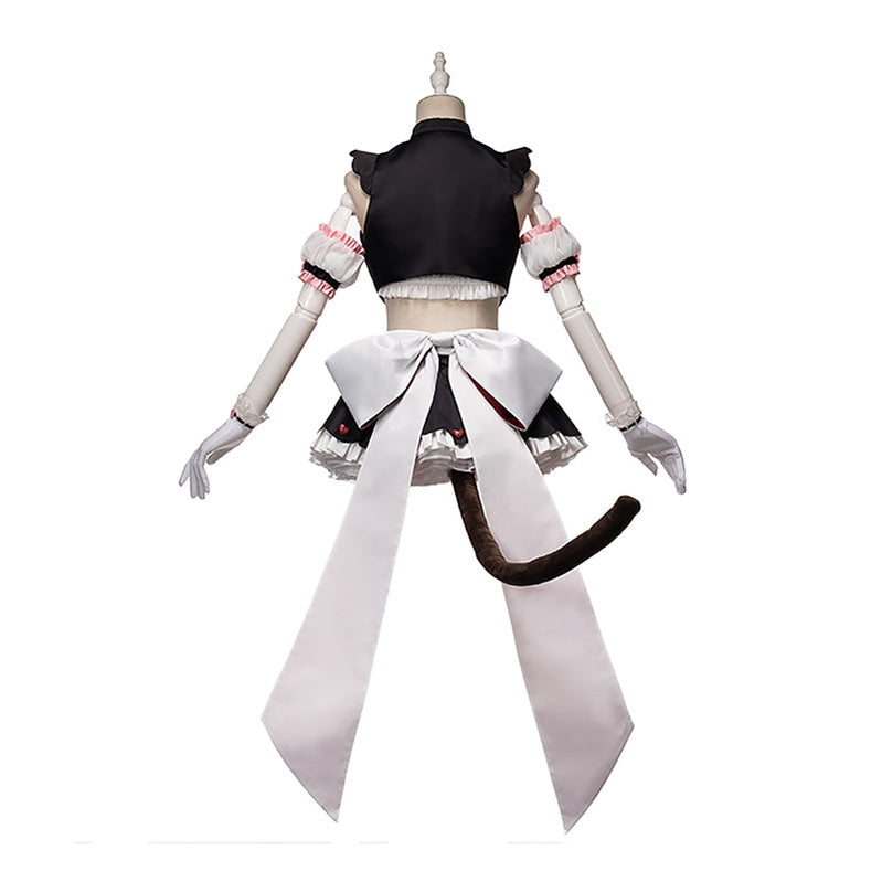 Anime Nekopara Catgirl Chocola Race Queen Maid Outfits Cosplay Costume - Cosplay Clans