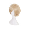 Anime Yuri on Ice Yuri Plisetsky Short Blond Cosplay Wigs - Cosplay Clans