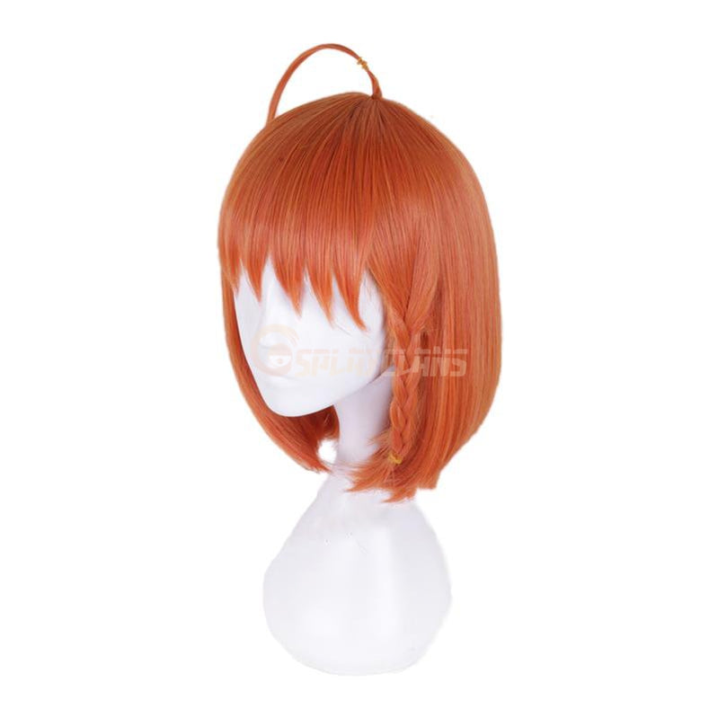 Anime LoveLive!Sunshine!! Takami Chika Long Orange Cosplay Wigs - Cosplay Clans