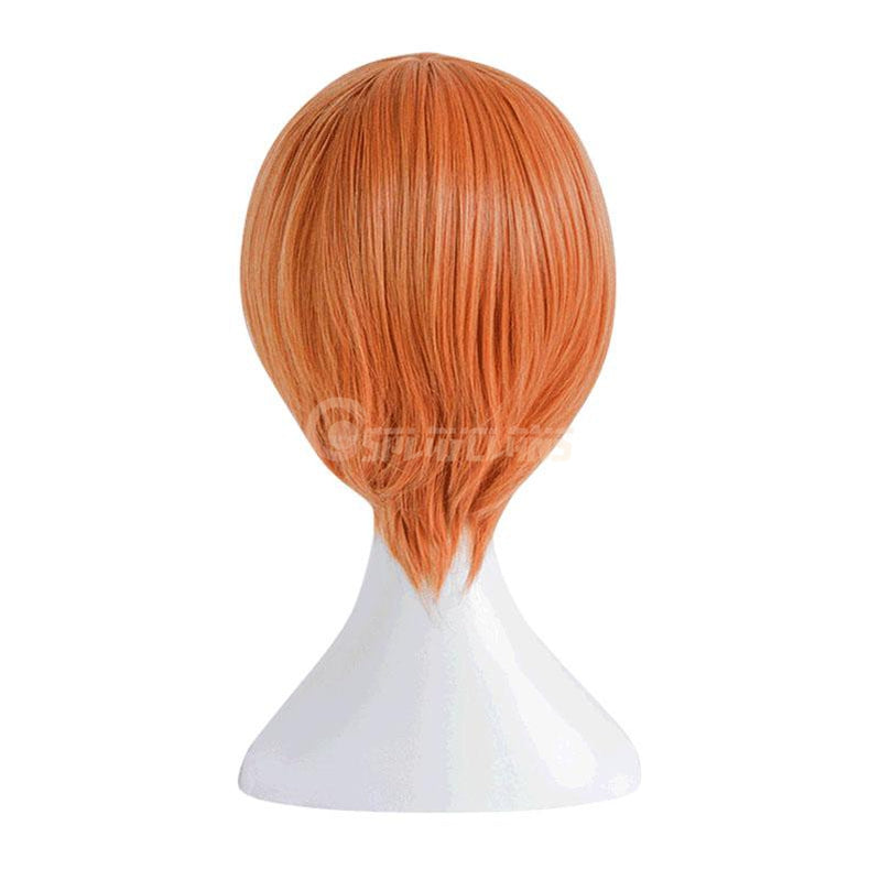 Anime LoveLive! Hoshizora Rin Short Orange Cosplay Wigs - Cosplay Clans