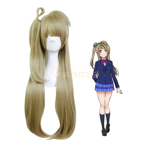 Anime LoveLive! Minami Kotori Long Linen Cosplay Wigs - Cosplay Clans