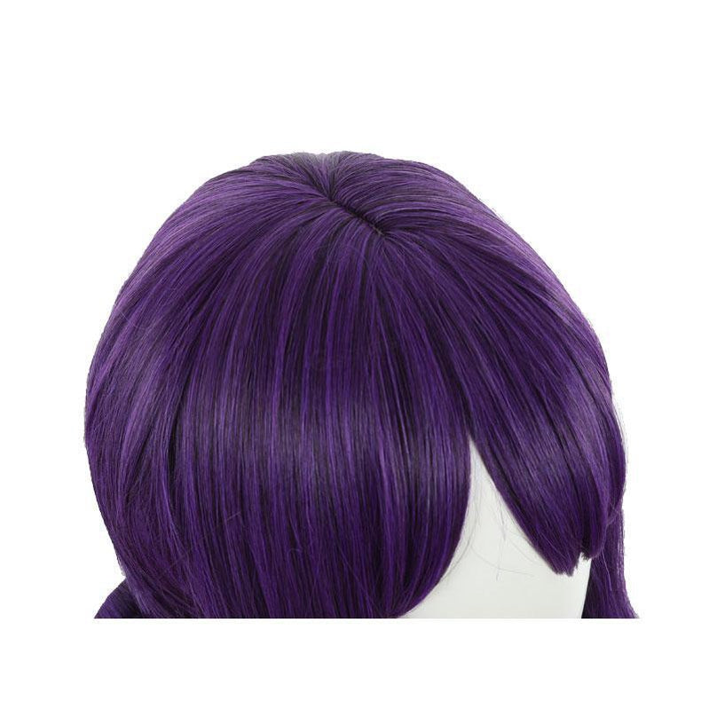 Anime Toilet Bound Hanako kun Akane Aoi Cosplay Wig Purple Mixed Circle Shape Wig - Cosplay Clans