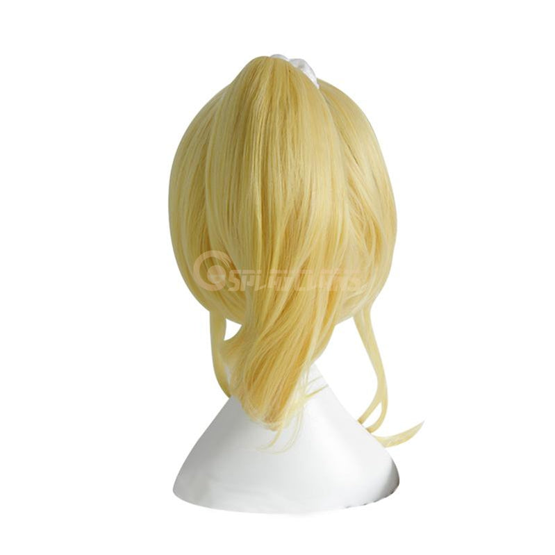 Anime LoveLive! Ayase Eli Long Blonde Cosplay Wigs - Cosplay Clans