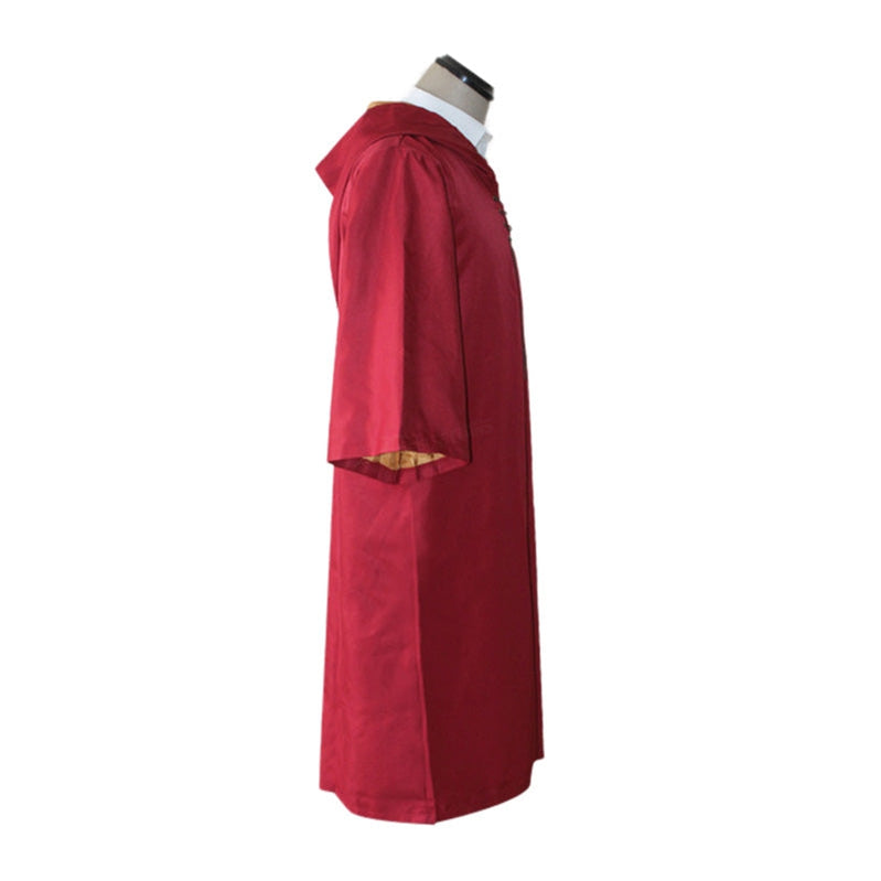 Movie Harry Potter Hogwarts Gryffindor Quidditch Team Cloak Cosplay Costume - Cosplay Clans