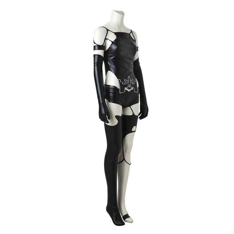 Video Game Nier: Automata Yorha A2 Type a No.2 Women Halloween Cosplay Costumes(Customized) - Cosplay Clans