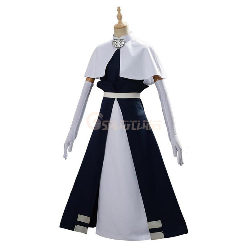 Anime Fire Force Iris Sister Suit Cosplay Costume - Cosplay Clans