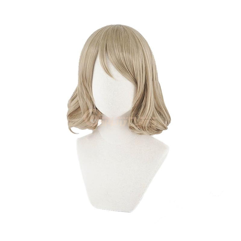 Anime LoveLive!Sunshine!! Watanabe You Short Linen Cosplay Wigs - Cosplay Clans