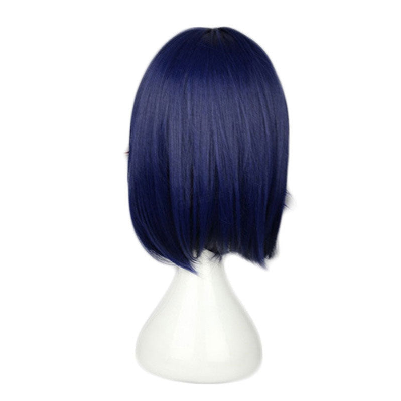 Anime KILL la KILL Matoi Ryuuko Short Dark Blue Cosplay Wigs - Cosplay Clans