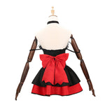 Anime Date A Live Kurumi Tokisaki Black Cat Maid Dress Cosplay Costume - Cosplay Clans