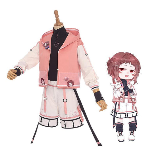 Anime My Hero Academia Ochaco Uraraka Casual Clothes Cosplay Costumes - Cosplay Clans