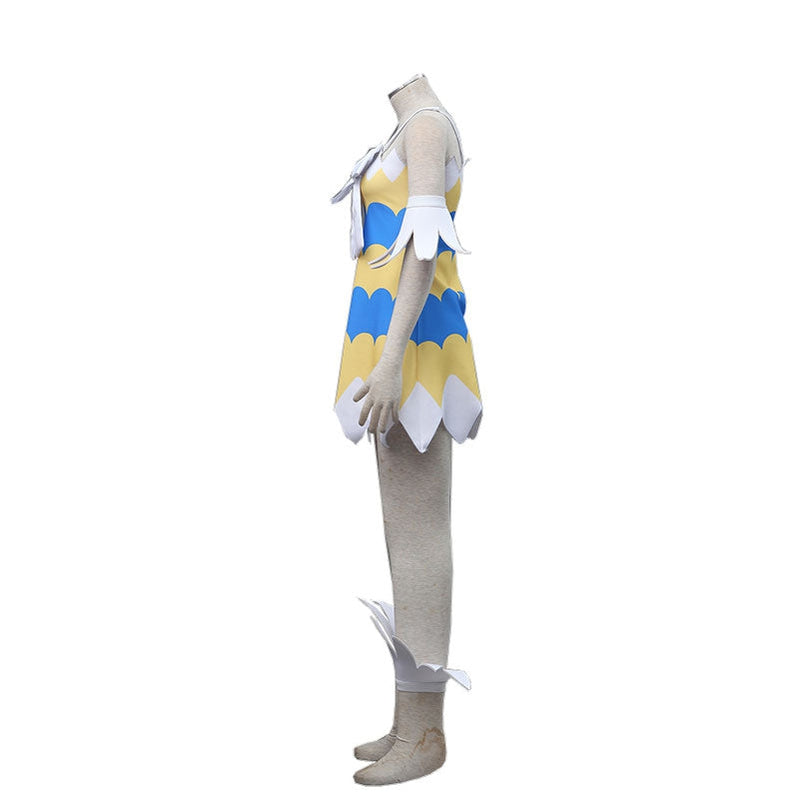 Anime Fairy Tail Wendy Marvell Cosplay Costume - Cosplay Clans