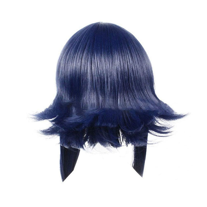 Anime Naruto Hyuuga Hinata Childhood Blue Cosplay Wigs with Free Headbands - Cosplay Clans
