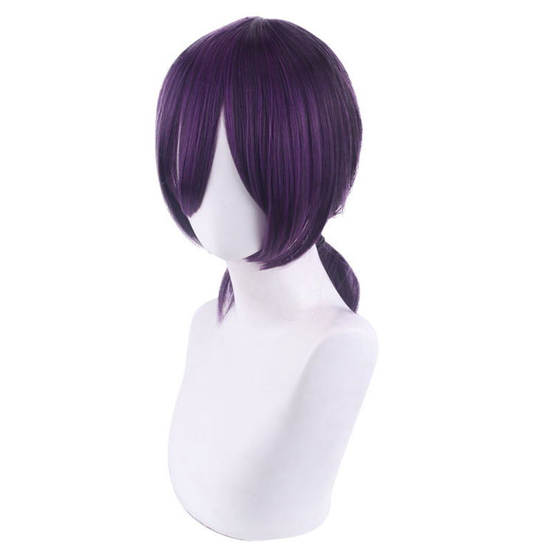 Anime Chainsaw Man Reze Purple Cosplay Wigs