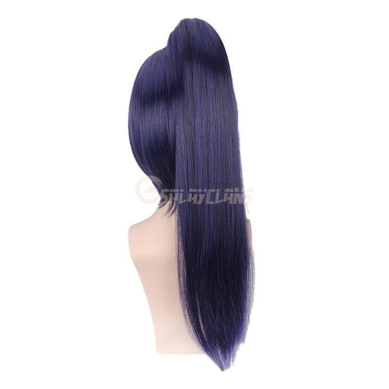 Anime LoveLive!Sunshine!! Matsuura kanan Long Dark Blue Cosplay Wigs - Cosplay Clans