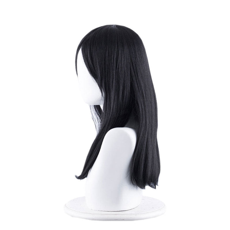 Game Identity V Witch Kawakami Tomie Yidhra 50cm Black Cosplay Wigs - Cosplay Clans
