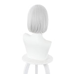 Anime Akudama Drive Cutthroat Short White Cosplay Wigs - Cosplay Clans