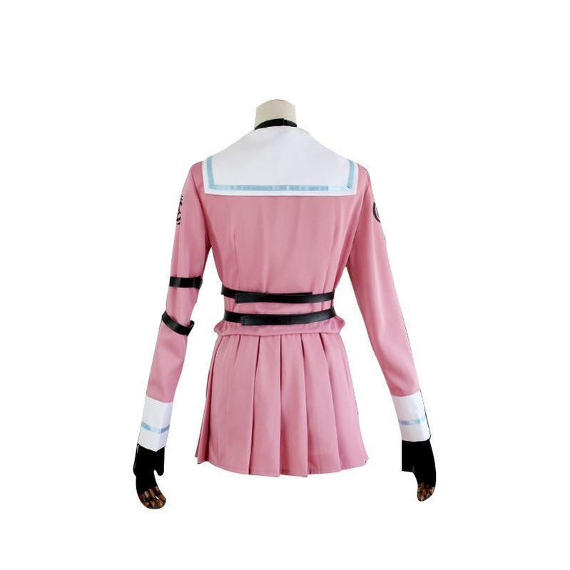 Anime Danganronpa V3: Killing Harmony Iruma Miu Cosplay Costume Halloween Party Suit - Cosplay Clans